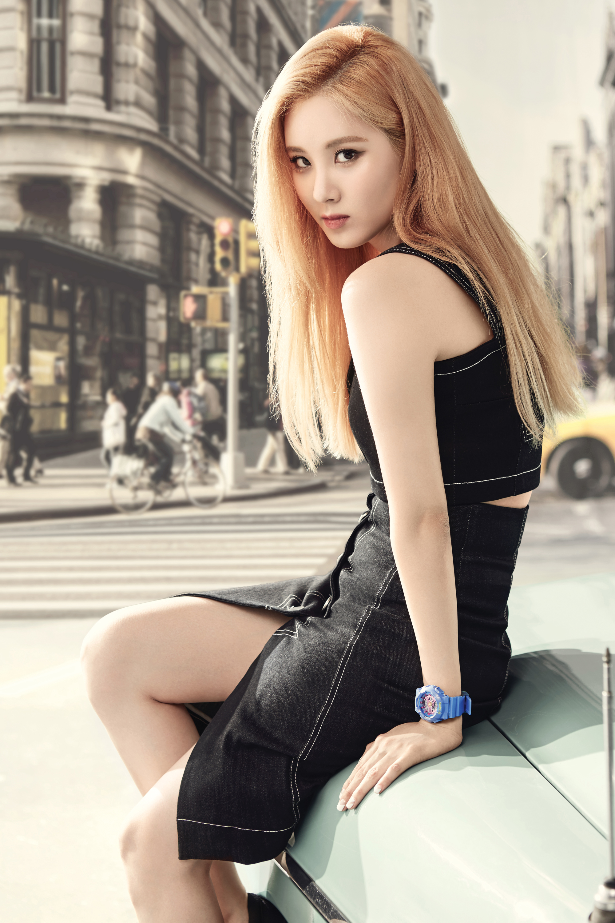 SoShi - Casio Baby-G Promotional Pictures | Manuth Chek's ...