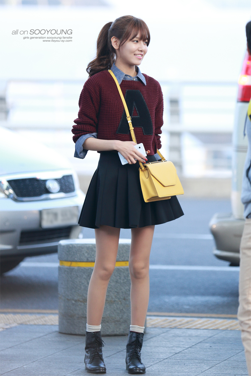 Sooyoung 130308 Incheon Airport Manuth Chek S Soshi Site