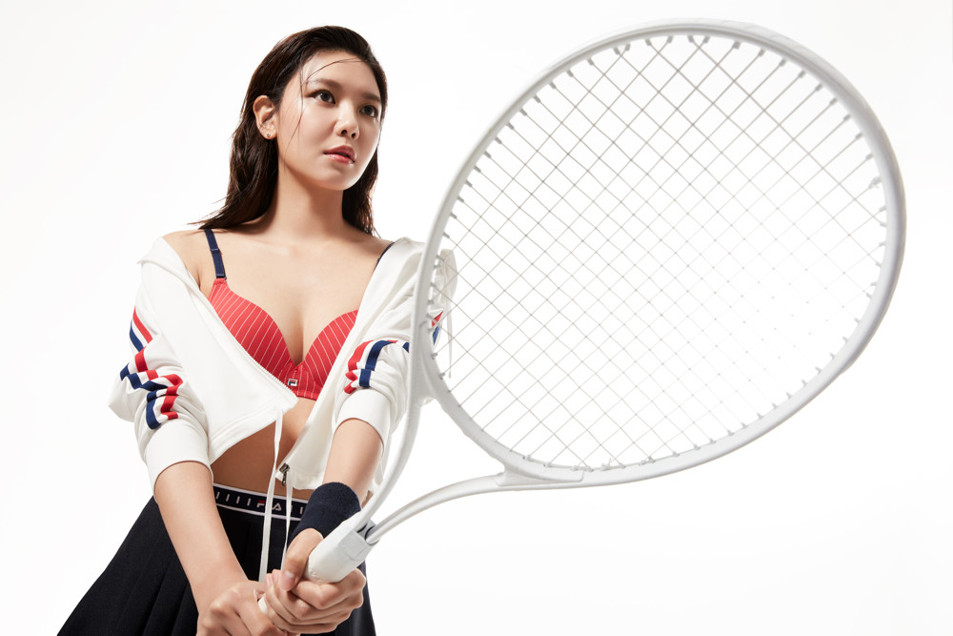 Sooyoung – FILA The Tennis Underwear Promotional Pictures