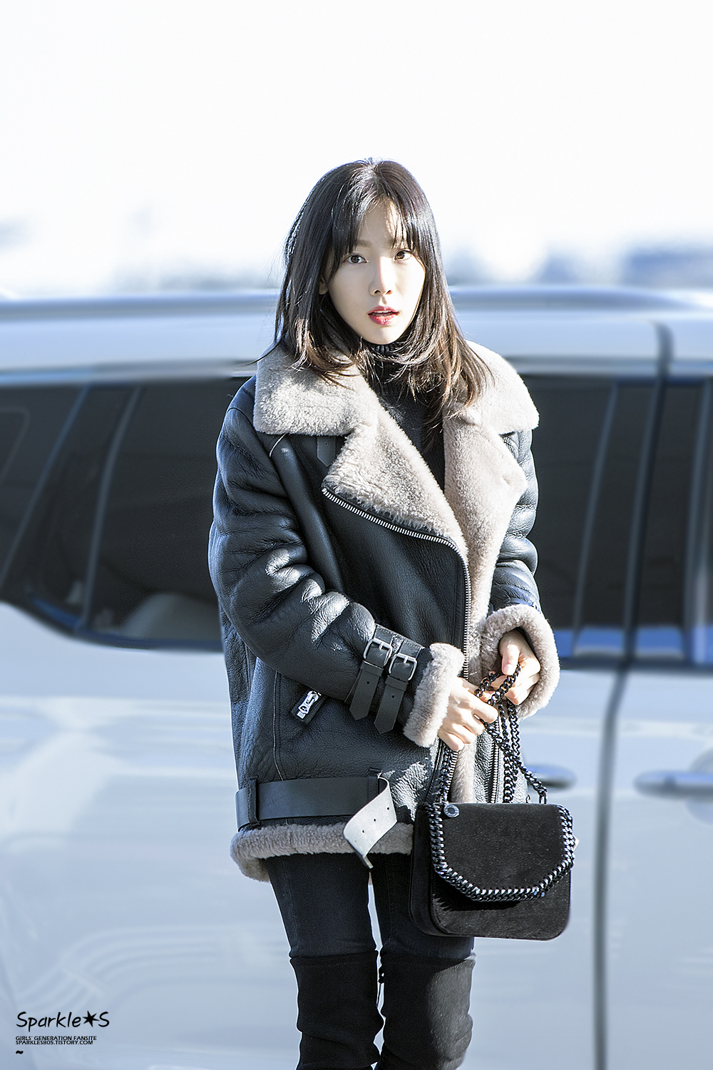 Taeyeon - 180112 Incheon Airport | Manuth Chek's SoShi Site