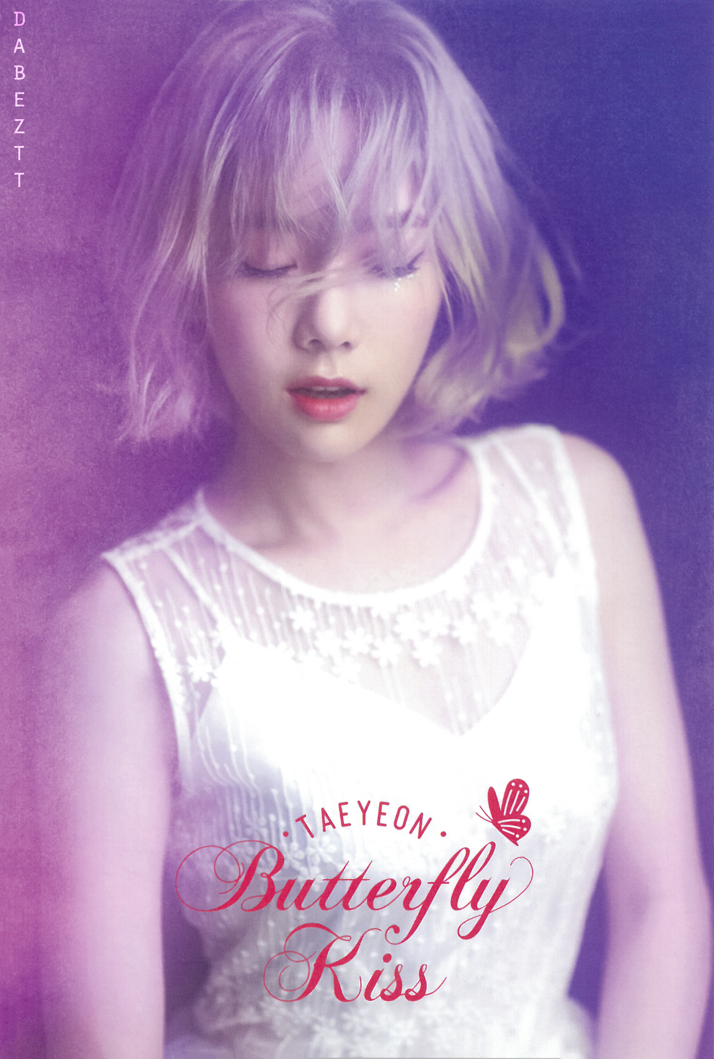 Taeyeon Butterfly Kiss Concert Photocards Manuth Chek S