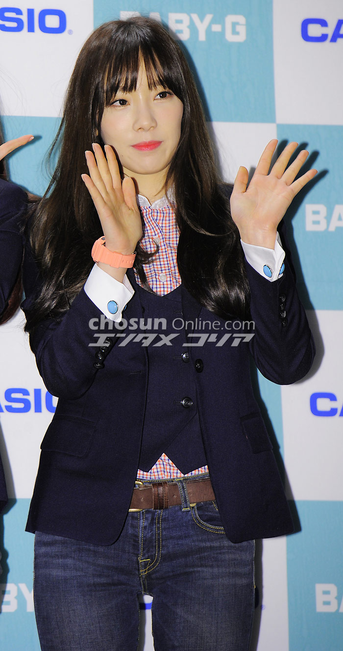 Taeyeon 140320 Baby G 20th Anniversary Party Manuth