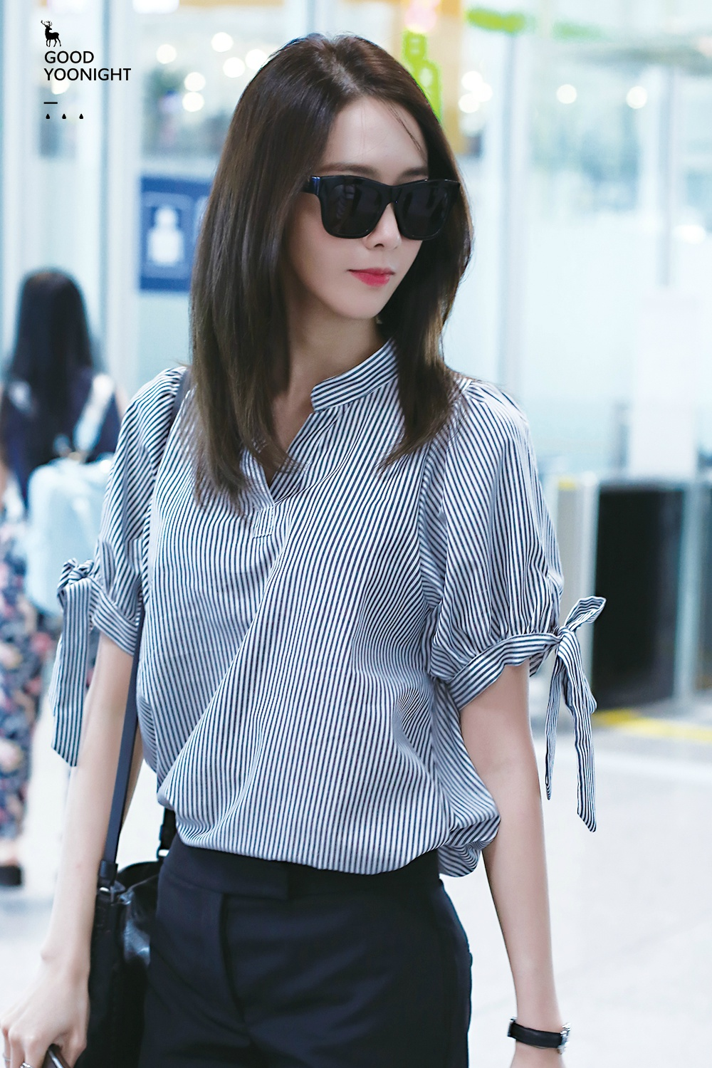 Yoona 160707 Incheon Airport Manuth Chek S Soshi Site
