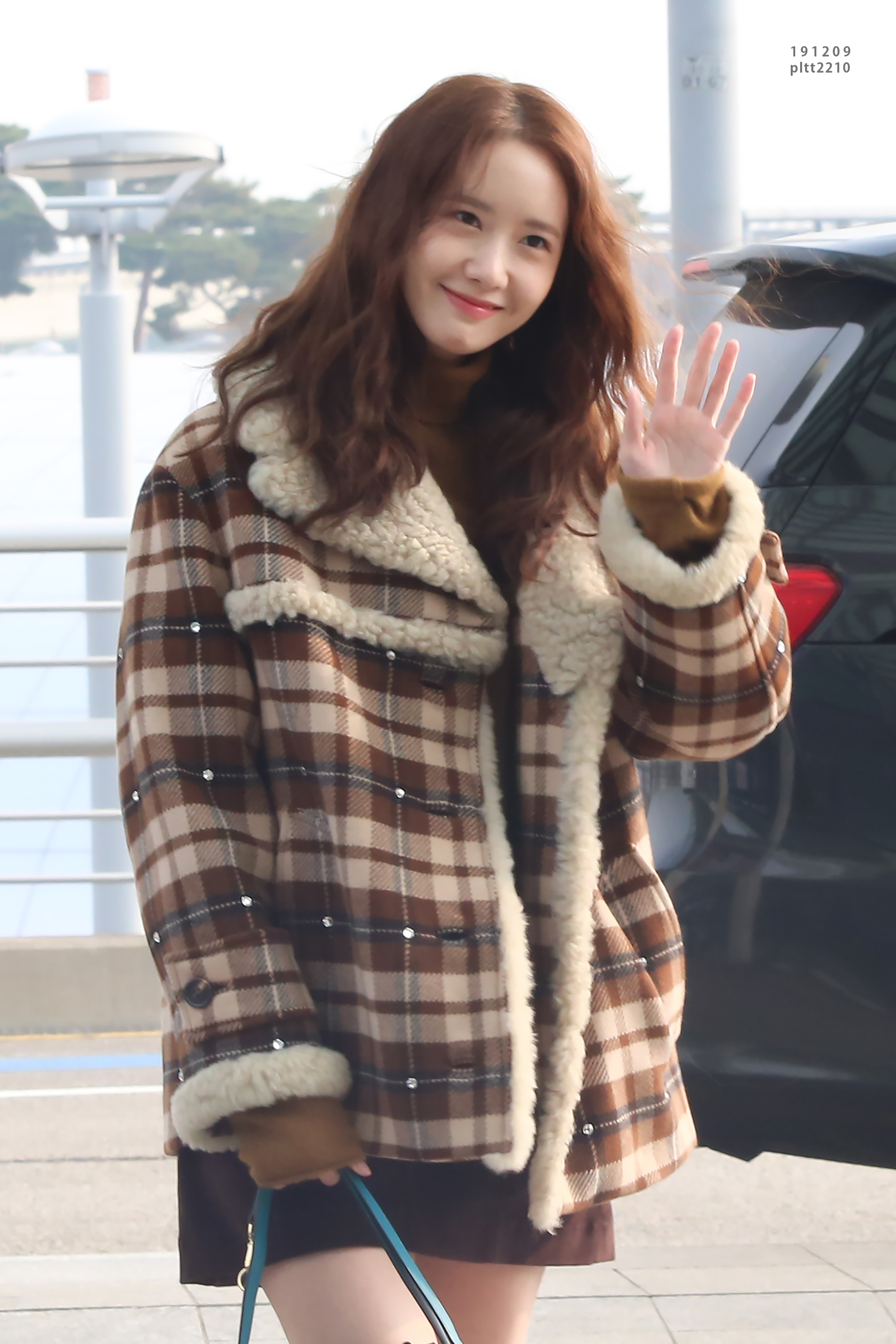 Yoona – 191209 Incheon Airport