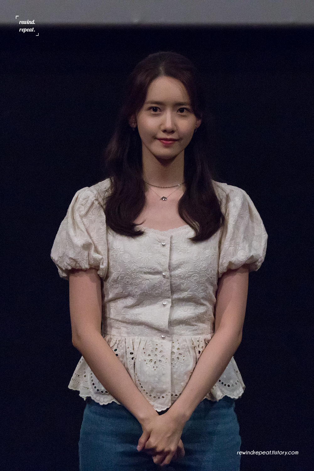 Yoona – 190811 EXIT CGV Seoul Stage Greetings